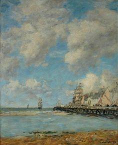 Expertises et ventes aux enchères de tableaux de Boudin