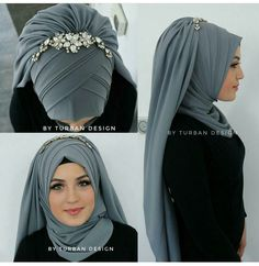 Hijab hijab k new style Hijab Chic, Hijab Elegante, Stylish Hijab, Street Hijab Fashion, Arab Fashion, Islamic Fashion, Muslim Fashion, Turban Hijab, Bridal Hijab Styles