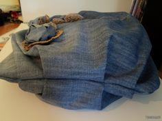 LA CASITA DE MABELY: bello bolso de pantalones vaqueros