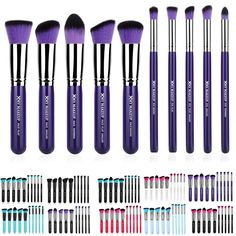 Cheap Makeup Online Professional 10 Xmy Color Brushes Cosmetic Facial Make Up Brush Tools Wool Makeup Brushes Set Kit Concealer Brush From Bestsaler2015, $9.97| Dhgate.Com