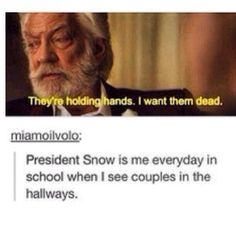 Lol haha funny pics / pictures / President Snow / Hunger Games Humor / Catching Fire / School / Couples / SO TRUE! Hunger Games Humor, The Hunger Games, Hunger Games Catching Fire, Hunger Games Trilogy, President Snow, Tribute Von Panem, Jenifer Lawrence, Just For Laughs, Tumblr Funny