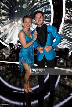 March 21, 2016: Dancing with the Stars - Ginger Zee and Valentin Chmerkovskiy