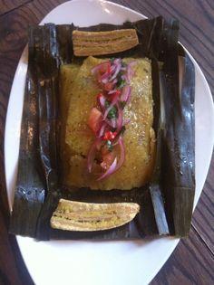 Juane de Yuca - A dish that unites the jungle