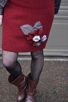 diy Anthropologie Inspired Sweater Skirt
