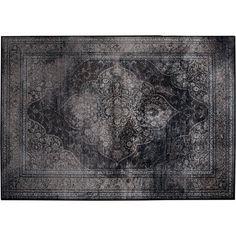 Dutchbone Rugged Vloerkleed 200 x 300 cm - Dark #vtwonencollectie