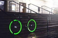 Pure fix glow bikes – this is happening this summer... glow in the dark bike....yes please!