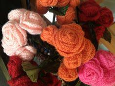 chrochet rose