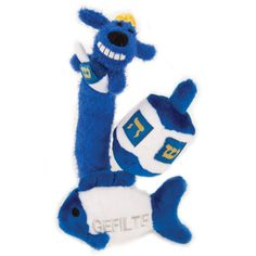 Hanukkah dog toys!!! Just bought one for Lilly - Hanukkah 2011