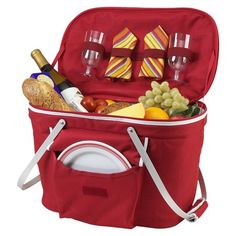I pinned this Collapsible Insulated Picnic Basket for Two from the A Day at the Beach event at Joss & Main!
