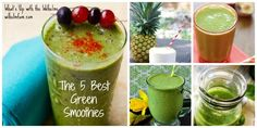 The 5 Best Green Smoothies