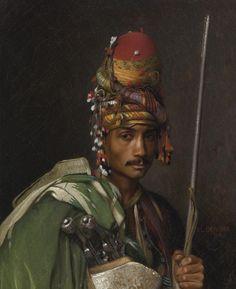An Ottoman Zeibek (Bir Osmanlı Zeybeği) #OttomanEmpire