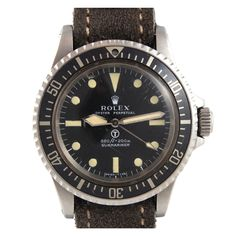 "ROLEX Stainless Steel ""Mil Sub"" Made for British Navy Ref 5513"