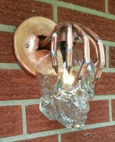 Crazy cool outdoor light fixture!!!