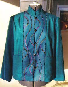 Art to Wear   Elisabeth Gillem   Custom Clothing   Art to Wear   Portland, Oregon