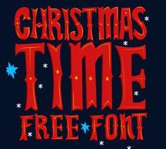 """""""Christmas Time"""": Ein kostenloser Weihnachts-Font"""
