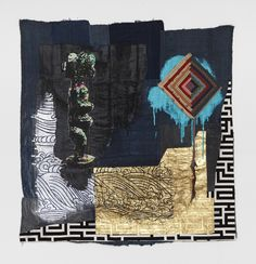 b796bae65c Sanford Biggers Makes Art out of Antique Quilts