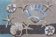 Tropical, Nautical and Coastal Accent Rugs | OceanStyles.com