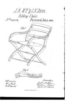 Civil War Officer S Chair Downloadable Plan Woodworking