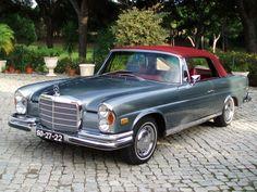 1970 Mercedes 280SE Convertible