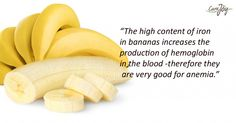 Are you anemic? Eat banana