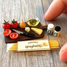 2017. Miniature pasta ♡ ♡ By an chouchou