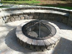 Belgard Country Manor Wall and Firepit Dreamscape Hardscape and Design New Bern NC