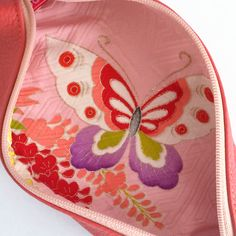 [ Wishes put into butterfly pattern ] harmonious marriage / one's love being accepted The pattern has long been used on kimono for marriage, since butterflies stay with the same partner throughout their lives.