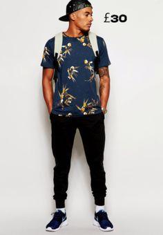 39a847c8cfa Cuckoos Nest T-Shirt with Japanese Bird Print