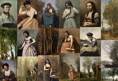 zyla sunset summer | jean-baptiste-camille corot | Zyla Sunset Summer