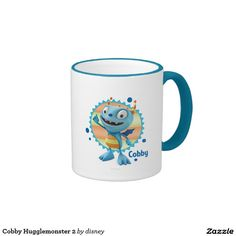 Cobby Hugglemonster 2 Taza De Dos Colores. Regalos, Gifts. #taza #mug