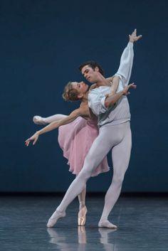 Mathias Heymann and Myriam Ould-Braham in George Balanchine's Sonatine
