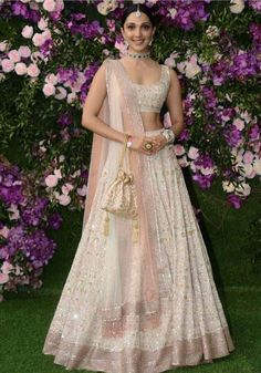 Indian Wedding Gowns, Desi Wedding Dresses, Indian Bridal Outfits, Indian Fashion Dresses, Designer Wedding Dresses, Punjabi Wedding, Indian Weddings, Wedding Lehenga Designs, Lehenga Wedding