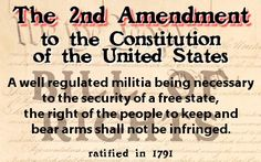 An introduction to the second amendment of the us constitution