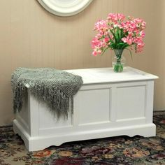Hayden Blanket Chest - Antique Ivory