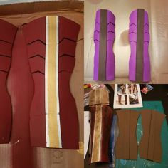 Costume Progress! Leg armour is coming around needs distressing and then clear coat. Finally I'll attach it to my front leg armour and my wonder woman costume will be ready!! All made with craft foam.  #HalloweenCostume #WonderWomanCosplay #WonderWomanCostume #Cosplay #WonderWomanArmour #CosplayArmour #ProgressPic #Halloween #LoveHalloween