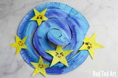 Paper Plate Star Twirler - Red Ted Art's Blog