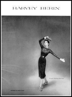Flickr. Dovima, Vogue, September, 1952