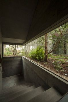 Phoenix House Sebastian Mariscal Studio Cardiff-by-the-Sea, California Photo © Yoshihiro Koitani Architecture Details, Landscape Architecture, Interior Architecture, Japan Architecture, Casa Bunker, Exterior Design, Interior And Exterior, Concrete Houses, Cement House