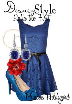 """""""Disney Style : Sofia the First"""" by missm26 on Polyvore"""