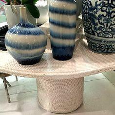 Blue Streak Vases -