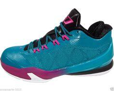 0f7e53056da Nike Air Jordan CP3 VIII Tropical Teal Men s Sneakers Size 11.5 NEW  130