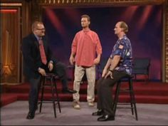Whose Line: Stand Sit Bend