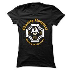 Charity Hospital School of Nursing  T Shirt, Hoodie, Sweatshirt