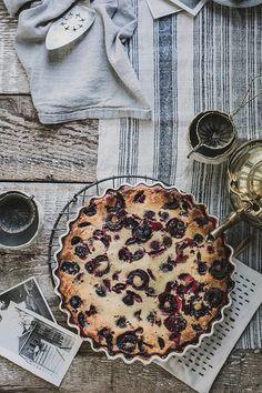 Gluten Free Cherry Clafoutis by Beth Kirby | {local milk}