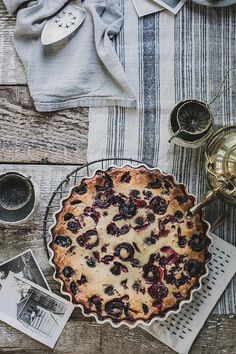 Gluten Free Cherry Clafoutis by Beth Kirby | {local milk}