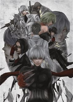 Tokyo Ghoul: re < MY FRIEND LOVES THIS AND KEEPS TELLING ME TO READ IT AND I'M GOING TO VERY SOON