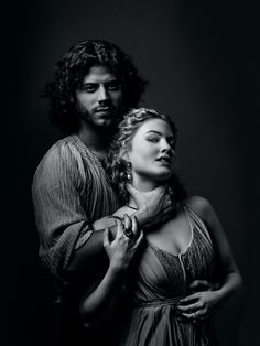 Cesare and Lucrezia Borgia played by François Arnaud and Holliday Grainger (we're going to hear more from her)