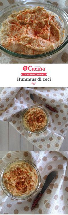 Hummus di #ceci della nostra utente Francesca. Unisciti alla nostra Community ed invia le tue ricette!