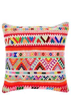 "Neon Peruvian Pillow, 16"""
