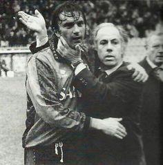 Franco Scoglio e Gianluca Signorini Genoa Football, Genoa Cfc, Cricket, Grande, Fictional Characters, Soccer, Football Soccer